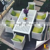 High quality on sale cheap modern outdoor table and chair dining set