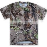 Wholesale blank t shirts Custom Hunting Fishing T Shirt Sublimation camouflage shirts                                                                         Quality Choice