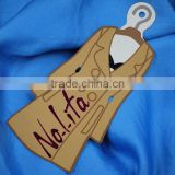 Customized paper label paper swing tag hang tag