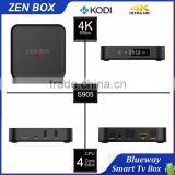 New Professional Brand Zen-Box 2GB DDR3 S905 HD 4K2K KODI IPTV Receiver Quad Core Android TV Box