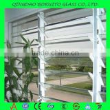 Low price clear louvre window glass