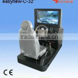 Professional driving simulator machine easy-c with 32 inches big LCD display