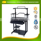 OEM Custom Cheap Diy Kids Learning Bookcase PP Computer Laptop Desk Set