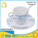 The latest hot style melamine tea cup set