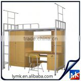 bunk bed with drawer stairs,bunk beds for hostels,children computer desk bed