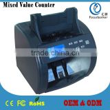 High-end Mixed Denomination Value Money Counter/ Banknote Discriminator / Note Counting Machine/ Currency Counter