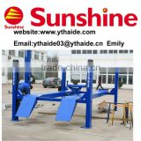 **SUNSHINE brand four post auto hoist with CE (SXJS5019)