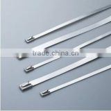 alibaba china OEM/ODM Factory Supply High Quality 201 304 316 SS Stainless Steel Self-locking Cable Ties