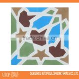 Cement colorful design floor tile interior home carpet cement tile high quality cement tile made in china cheap price