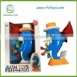 Dolphin toy water toy play baby bath toys dolphin bath set