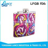 New arrival American style stainless steel liquor hip flask