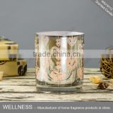 luxury gold glass candle holder with scented candle                                                                                                         Supplier's Choice
