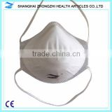 Cup 3-layer non-woven material without valve anti pollution mask