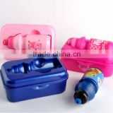 New product!! kids water bottle with box containers
