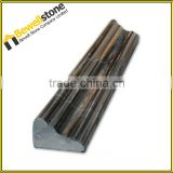 Ogee Polished China Black Marble Pencil Liners Borders and Base Molding