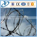 Security Fence concertina Razor Barbed Wire mesh for Prison and Airport (factory price)                                                                         Quality Choice