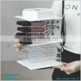 Guangzhou Satom Wholesale Rotating Spinning Acrylic Lipstick Tower                                                                         Quality Choice