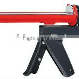 caulking gun, steel body, plastic handle, Ergonomic