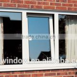 Hot sale PVC/UPVC interior/exterior tilt&turn window with double tempered glazed,PVC/UPVC windows and doors