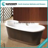 SUNZOOM copper bath tub,copper tub,brass copper bathtub