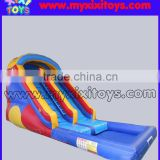 xixi toys small Backyard inflatable water slide for kids