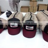 customed 5panel with 100% COTTON fabric DINOSAURS pattern LOGO baseball mesh hats