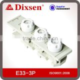 Ceramic and resin Fuse Link& Fuse base E33-3P electronic fuse holder