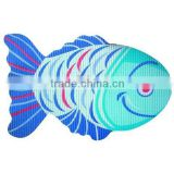 Variety fish shape anti slip floor rugs Vinyl Foam Fancy bath mats