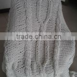 Quality Handmade Knitting Soft Acrylic Very Chunky Throw                                                                         Quality Choice