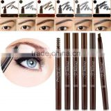 DIHAO Waterproof Long lasting Black Eyeliner Eyebrow Pencil