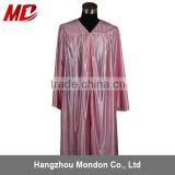 Choir robe - adult church robe shiny pink