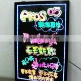 Stock available alibaba cheap price led write and shine ad board                                                                         Quality Choice
