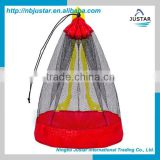 2015 best fashion mesh foldable nonwoven beach bag resualbe storage beach bag non-woven drawstring handbag