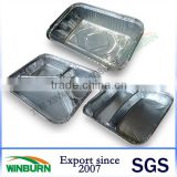 Disposable Aluminum Foil Meal Tray for Catering Service