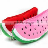 Flocking watermalon cosmetic bag wholesale 2016 watermelon mini bag                                                                         Quality Choice