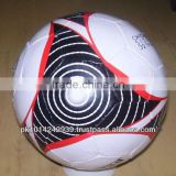 Official size standard soccer ball match