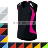 Factory price high quality sublimation printed volleyball jerseys colors for women
