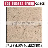 Hot sales cheese color galaxy of quartz stone,High quality artificial imitation marble quartz stone