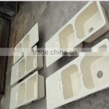 solid surface acrylic resin kitchen sink manufacture ,resin stone kitchen sink