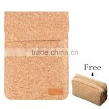 Portable Fashion Wooden Bag for Macbook Laptop Bag Tab Case made by Cork