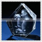 3D Laser Photo Crystal Model For Baby Souvenir