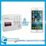 Burglar alarm/GSM Alarm System/Wireless GSM Alarm	gsm alarm system	intelligent home alarm	wireless fire alarm system