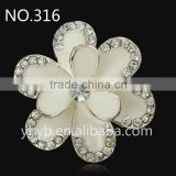 metal rhinestone button of garment accessory for lace trim and stick on clothes and shoes