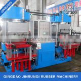 Doule seat vacuum compression moulding machine automatic for making o rubber rings and seal