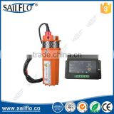 Sailflo 12v /24v Farm & Ranch solar Submersible Deep Well Dc Solar Water Pump Battery