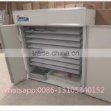 ZH-2112 stainless steel solar power egg incubator/ automatic egg incubator/chicken hatchery machine for sale
