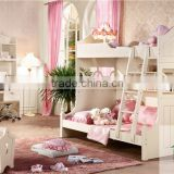 Cheap kids children bedroom furniture bunk beds sets HA-819# children bedroom set made in china