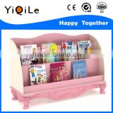 Guangzhou factory cheap price novel design wooden book rack for kids
