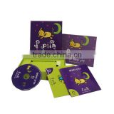 supply printed paper cd sleeve