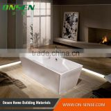 Factory directly sale custom hydromassage bathtub sizes, bathtub acrylic with Cheap Price